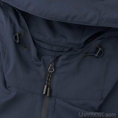 Áo khoác gió nam xuất khẩu nhật 1 lớp dư xịn màu xanh navy