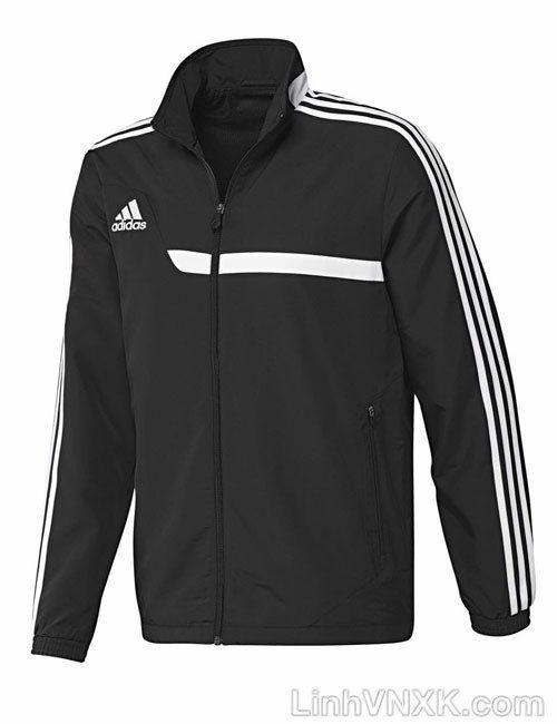 Áo khoác gió thể thao nam xuất khẩu das màu đen
