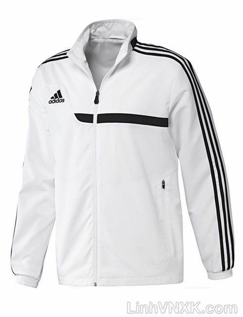 Áo khoác gió thể thao nam xuất khẩu das màu trắng