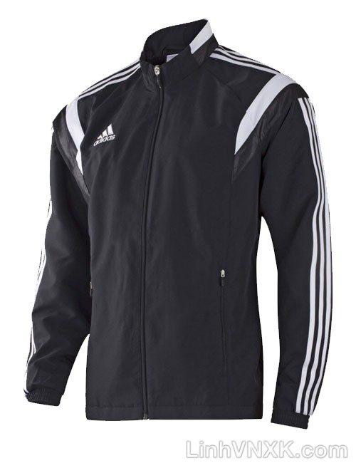 Áo khoác gió nam thể thao xuất khẩu màu đen
