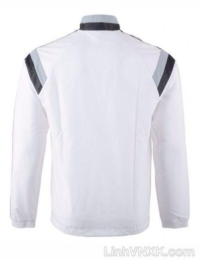 Áo khoác gió nam thể thao xuất khẩu màu trắng