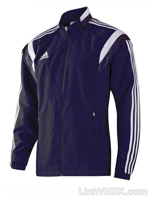 Áo khoác gió nam thể thao xuất khẩu màu xanh navy