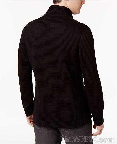 Áo khoác nỉ nam xuất khẩu Alfani màu đen