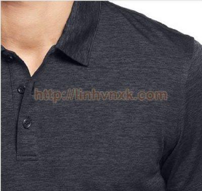 Áo phông có cổ nam xuất khẩu alfani màu lông chuột