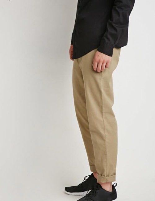 quần kaki nam 21men xuất khẩu màu kaki
