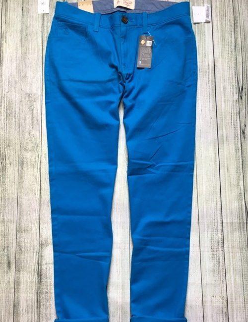 Quần kaki nam giả jean Penguin màu xanh blue