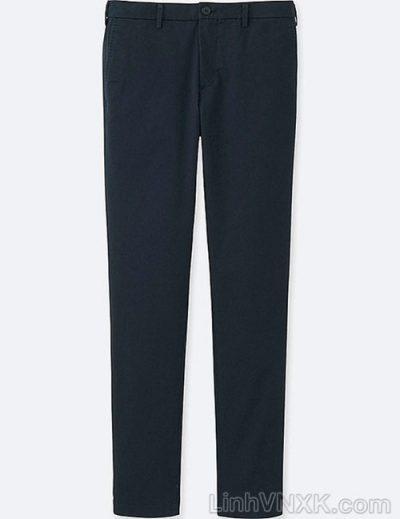 Quần kaki nam xuất khẩu Uni vintage regular fit màu xanh navy
