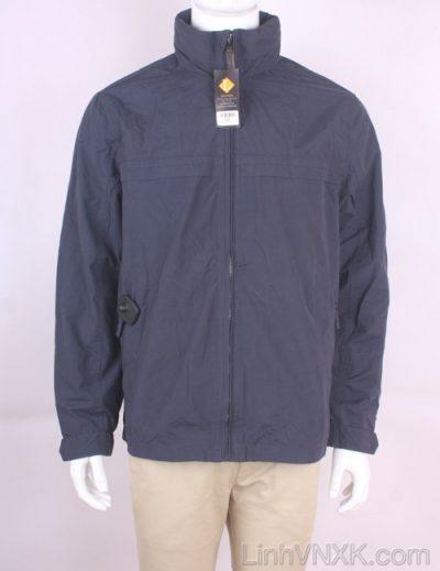 Áo khoác kaki nam chống nước màu xanh navy