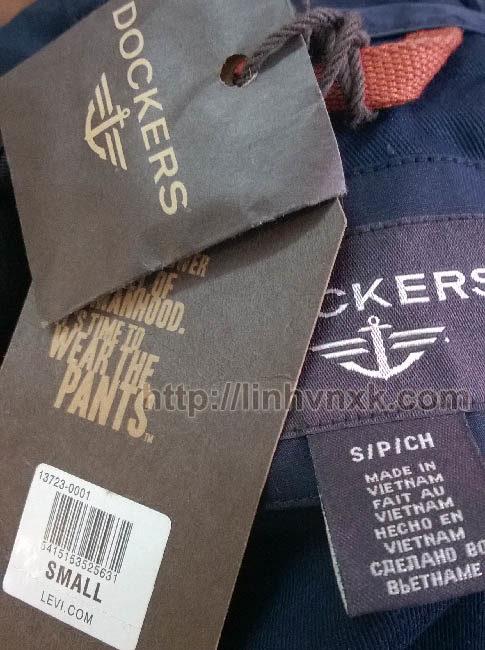 Áo khoác kaki Dockers nam màu be