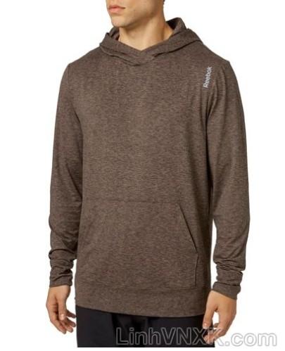 Áo hoodie thể thao Reebok màu lông chuột