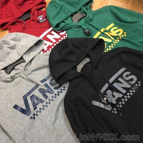 Áo hoodie nỉ nam xuất khẩu Vans