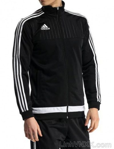 Áo khoác nam Das lót nỉ màu đen
