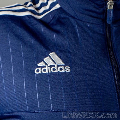 Áo khoác nam Das lót nỉ màu xanh navy