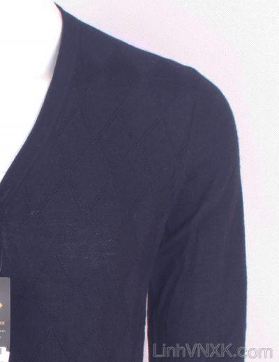 Áo cardigan nam xuất khẩu dư xịn Uniqlo trần trám màu xanh navy