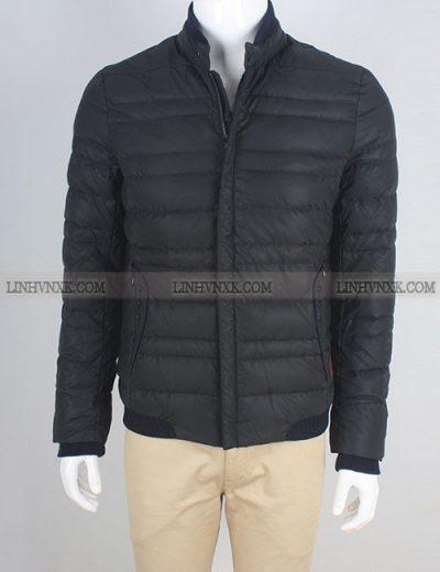 áo khoác lông vũ nam paul smith màu đen