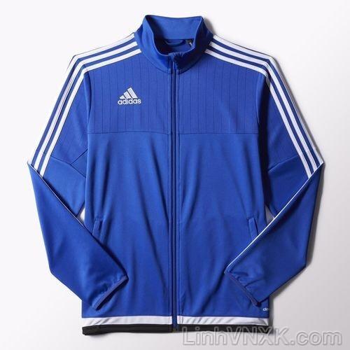 Áo khoác thể thao nam xuất khẩu Das màu xanh blue