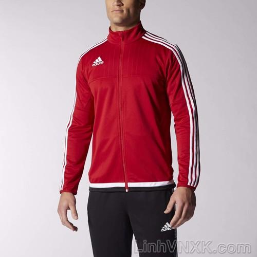 Áo khoác thể thao nam xuất khẩu Das màu đỏ