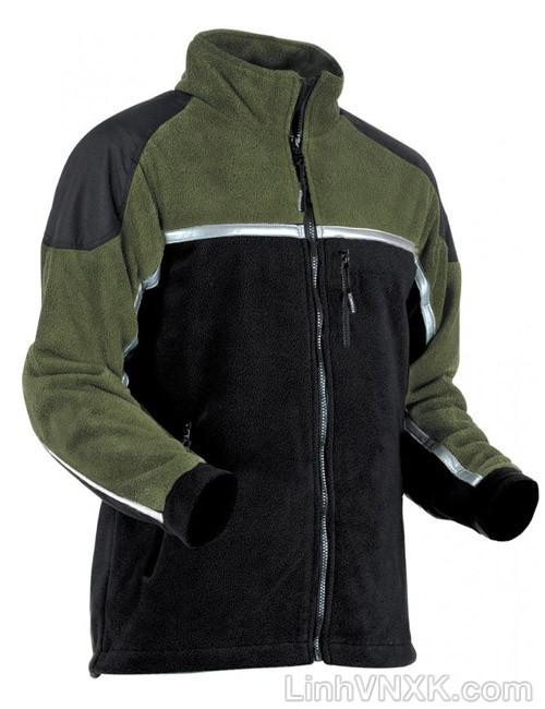 Áo khoác nỉ nam dày Pfanner màu rêu