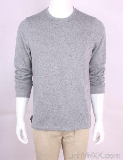 Áo len nỉ lót lông xuất Mỹ Croft&Barrow màu ghi sáng