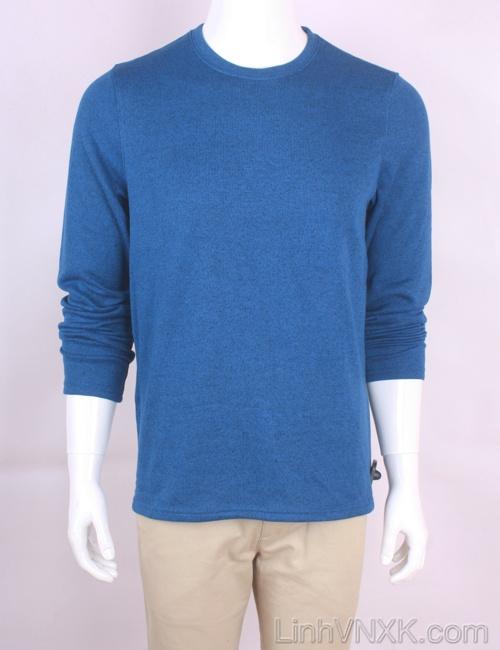 Áo len nỉ lót lông xuất Mỹ Croft&Barrow màu xanh blue