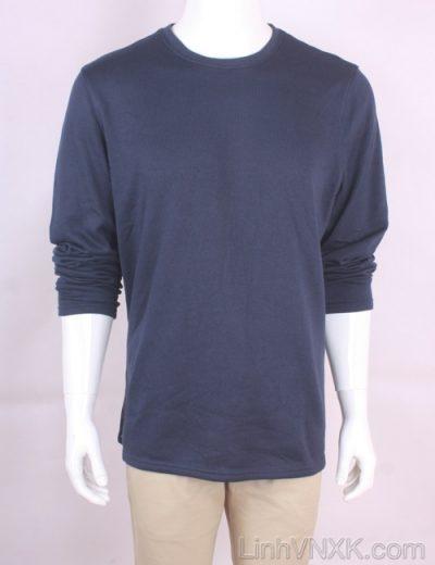 Áo len nỉ lót lông xuất Mỹ Croft&Barrow màu xanh navy