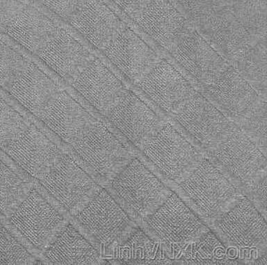 Áo nỉ nam xuất Hàn trần trám vân nổi màu ghi