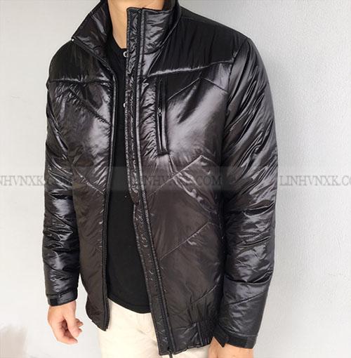 Áo khoác phao siêu nhẹ màu đen