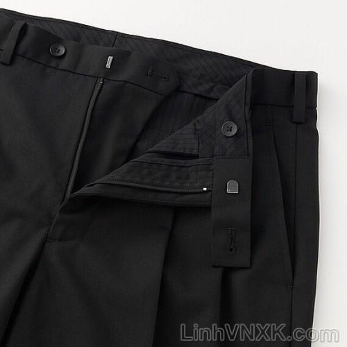 Quần âu nam xuất khẩu uniqlo màu đen