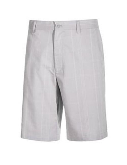 quần sooc golf nam big size Greg Norman kẻ caro ghi