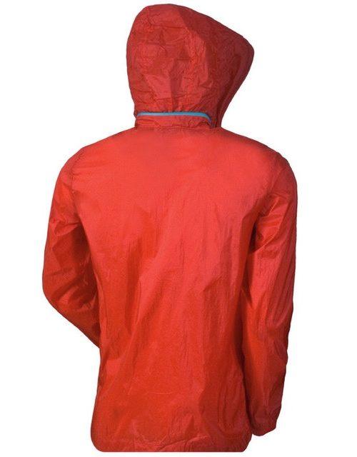 Áo khoác gió một lớp xuất khẩu Vitro màu đỏ