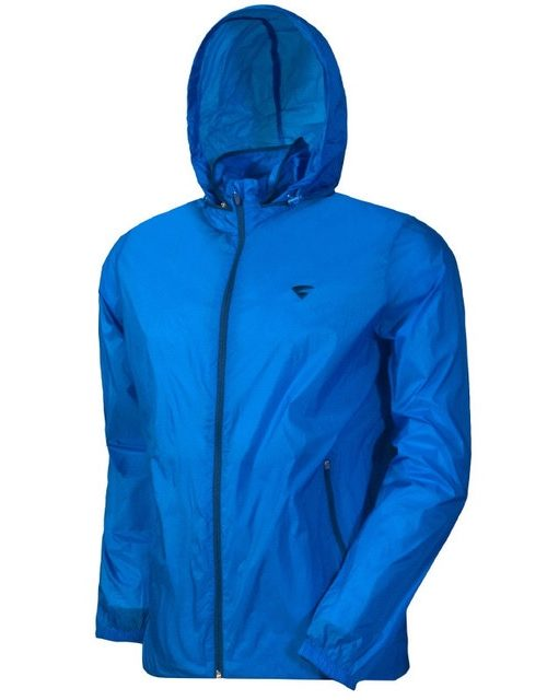 Áo khoác gió một lớp xuất khẩu Vitro màu xanh blue