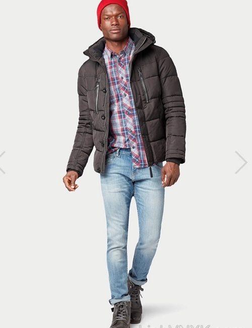 Áo khoác nam hàng hiệu xuất khẩu xịn Tom Tailor màu đen