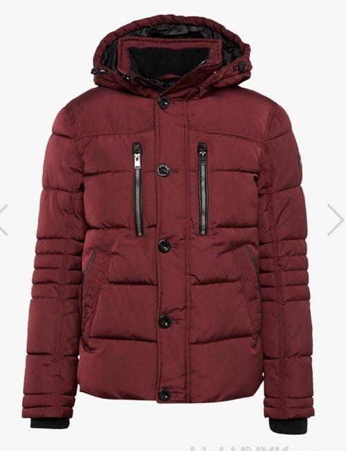 Áo khoác nam hàng hiệu xuất khẩu xịn Tom Tailor màu đỏ mận