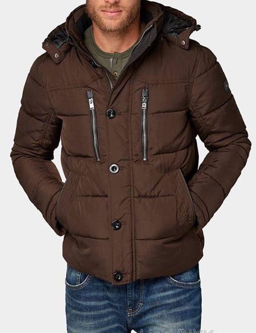 Áo khoác nam hàng hiệu xuất khẩu xịn Tom Tailor màu nâu
