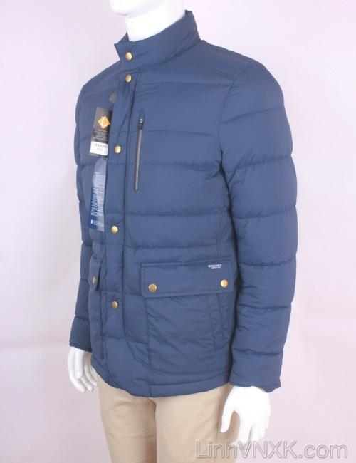 Áo khoác nam lông vũ xuất khẩu Hàn màu xanh Discovery