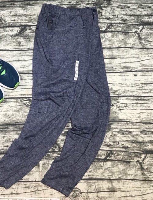 Quần nỉ nam Zara jogger màu ghi xám