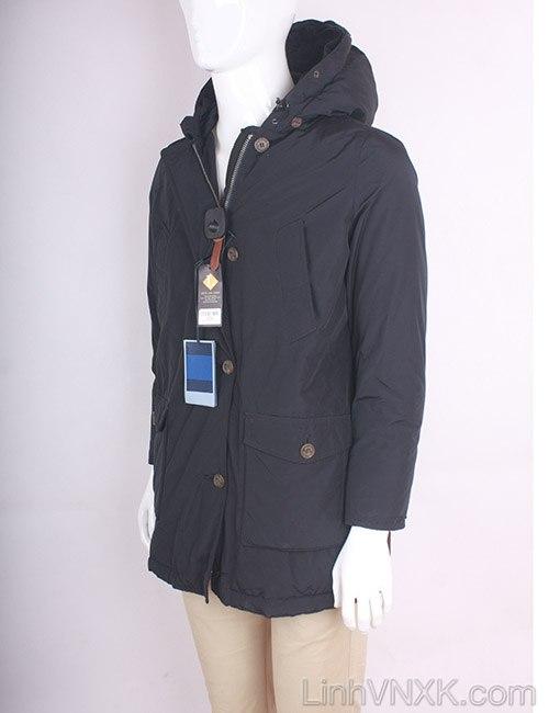 Áo khoác parka nam đi tuyết Pespow màu xanh navy