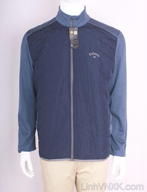 Áo khoác golf callaway xuất khẩu màu xanh navy