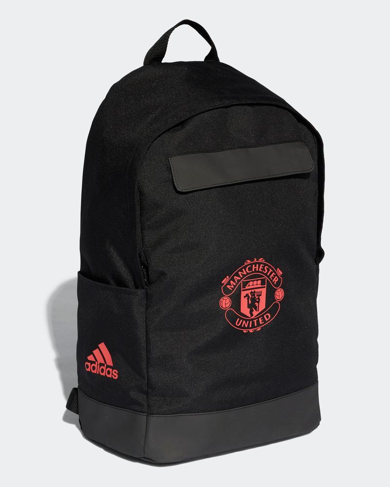 Balo Adidas Manchester United đen logo đỏ