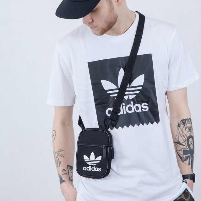 Túi xách vải mini bag adidas màu đen