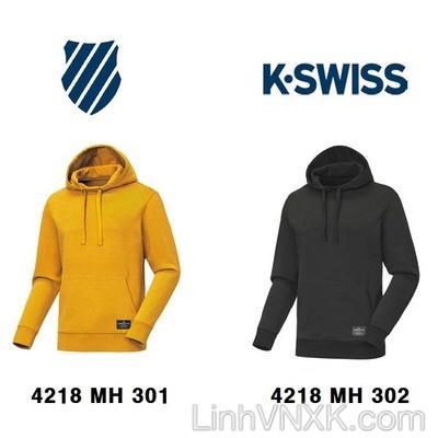 Áo hoodie nam xuất Hàn Kswiss