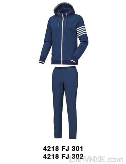 Bộ quần áo nam xuất khẩu Hàn quốc Kswiss màu xanh navy
