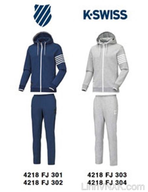 Bộ quần áo nam xuất khẩu Hàn quốc Kswiss