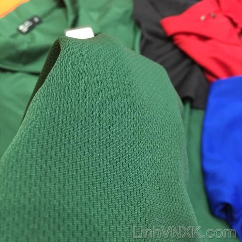 Áo thun polo nam thể thao xuất khẩu Netmen xanh rêu
