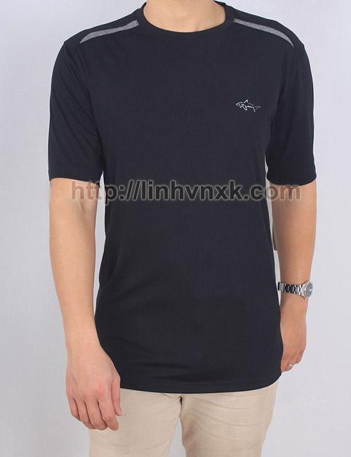 Áo thun nam thể thao Greg Norman cổ tròn màu đen