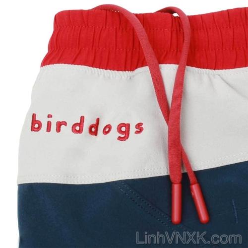 Quần thể thao đa năng Bird Dog xuất Mỹ navy cạp đỏ trắng