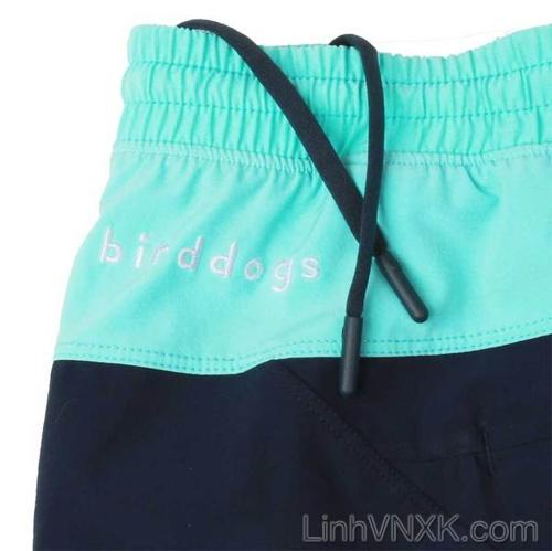 Quần thể thao đa năng Bird Dog xuất Mỹ xanh navy phối xanh ngọc