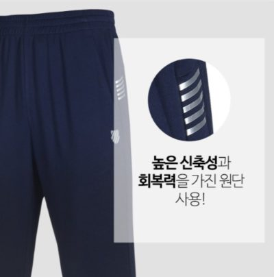 Quần thể thao nam lửng xuất Hàn Kswiss navy