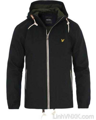 Áo khoác kaki nam xuất khẩu Lyle Scotch màu đen