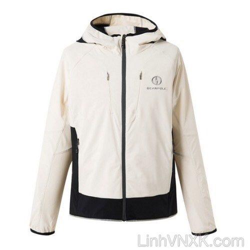 Áo khoác gió chống nước nam cao cấp hàng hiệu màu be trắng